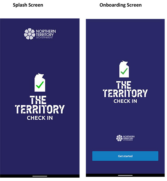 The Territory Check in app